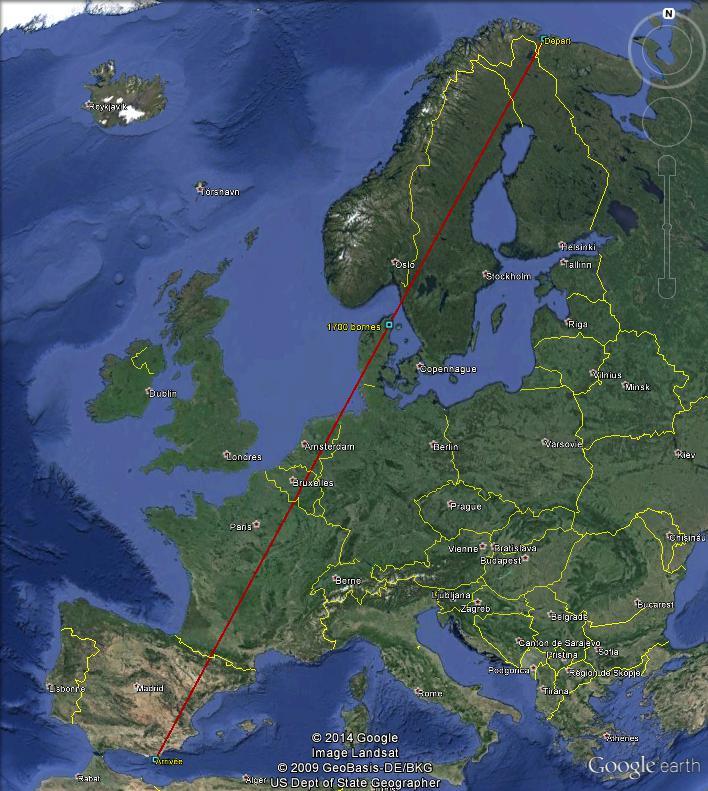 Diagonale européenne de Grense Jakobselv (NORVEGE) au Cap de Gate (ESPAGNE) - Page 4 170010