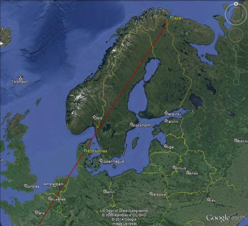 Diagonale européenne de Grense Jakobselv (NORVEGE) au Cap de Gate (ESPAGNE) - Page 4 180010