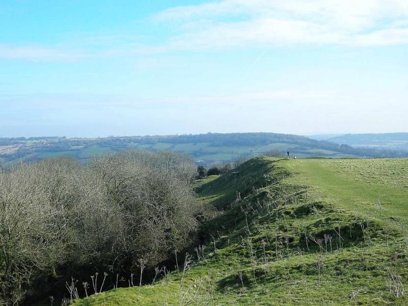 Solsbury Hill, dans le Somerset : sur les traces Peter Gabriel 19369610