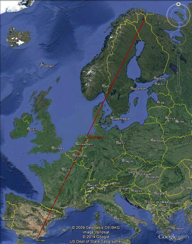 Diagonale européenne de Grense Jakobselv (NORVEGE) au Cap de Gate (ESPAGNE) - Page 5 2200_110