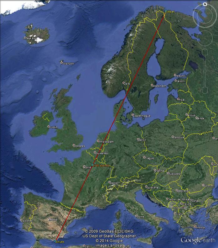 Diagonale européenne de Grense Jakobselv (NORVEGE) au Cap de Gate (ESPAGNE) - Page 6 270010