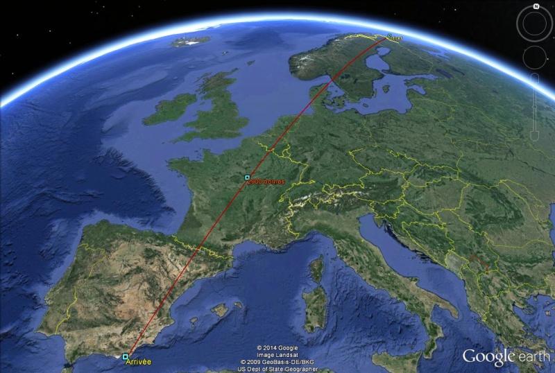 Diagonale européenne de Grense Jakobselv (NORVEGE) au Cap de Gate (ESPAGNE) - Page 6 290010
