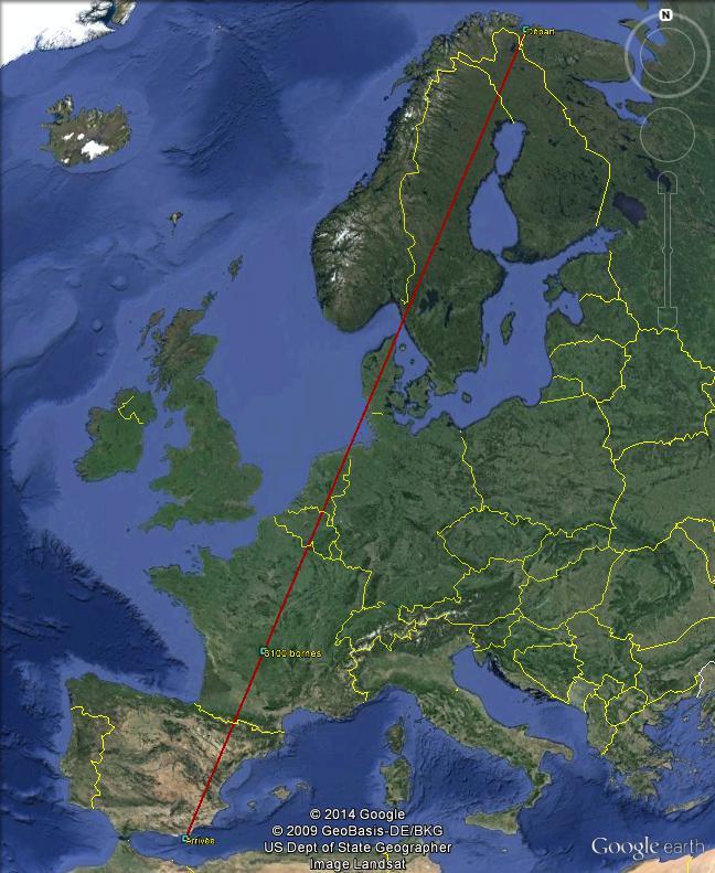 Diagonale européenne de Grense Jakobselv (NORVEGE) au Cap de Gate (ESPAGNE) - Page 7 310010
