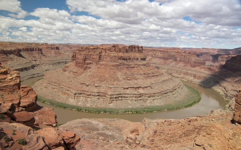 The Loop : les méandres parfaits du fleuve Colorado - Parc national de Canyonlands (Utah) :  31683410