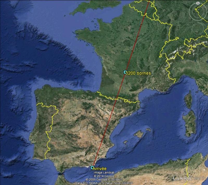 Diagonale européenne de Grense Jakobselv (NORVEGE) au Cap de Gate (ESPAGNE) - Page 7 320010