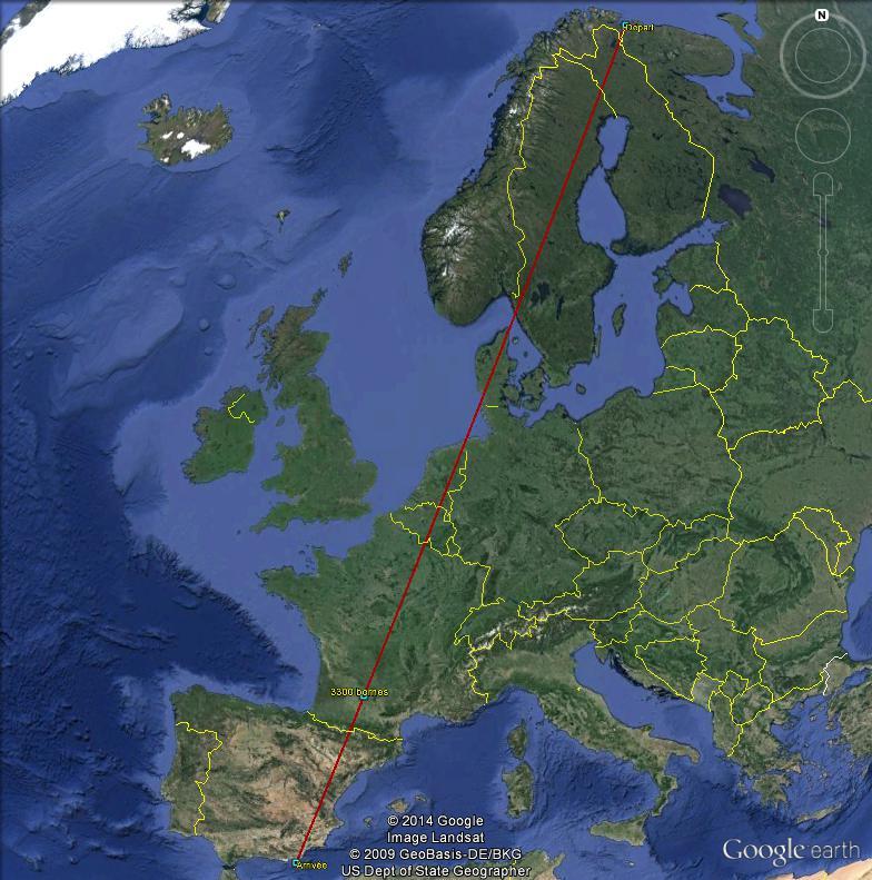 Diagonale européenne de Grense Jakobselv (NORVEGE) au Cap de Gate (ESPAGNE) - Page 7 330010