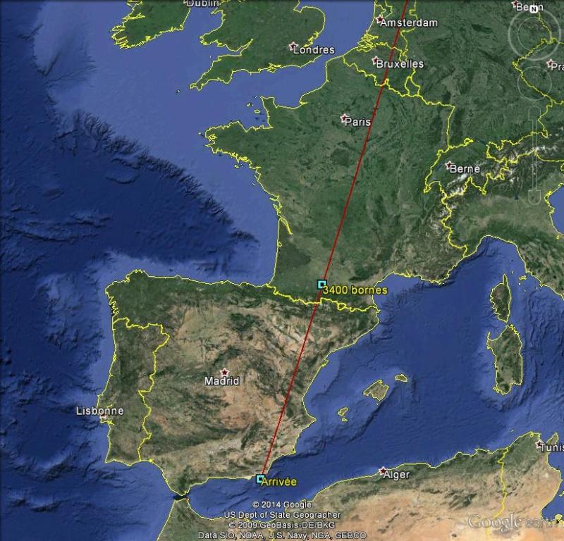 Diagonale européenne de Grense Jakobselv (NORVEGE) au Cap de Gate (ESPAGNE) - Page 7 340010