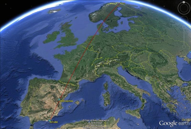 Diagonale européenne de Grense Jakobselv (NORVEGE) au Cap de Gate (ESPAGNE) - Page 8 380010
