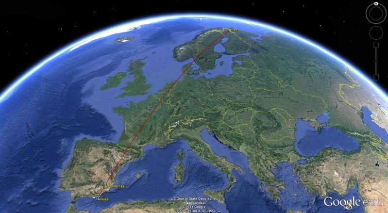 Diagonale européenne de Grense Jakobselv (NORVEGE) au Cap de Gate (ESPAGNE) - Page 8 400010