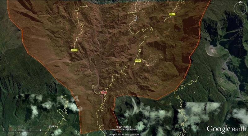 LA RÉUNION : la route de Cilaos, dite route aux 400 virages 40010
