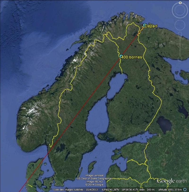 Diagonale européenne de Grense Jakobselv (NORVEGE) au Cap de Gate (ESPAGNE) 400_bo10
