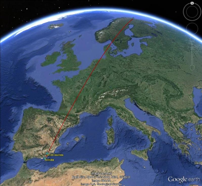 Diagonale européenne de Grense Jakobselv (NORVEGE) au Cap de Gate (ESPAGNE) - Page 8 410010