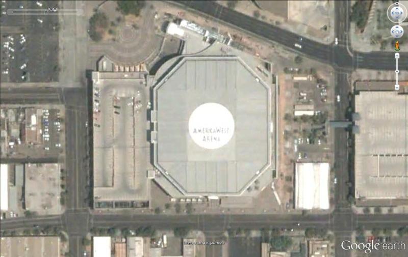 Amercia West Arena des Phoenix Suns. Americ11