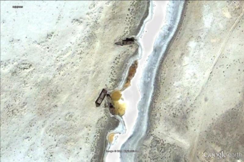 Bateaux échoués en mer d'Aral -  Kazakhstan / Ouzbékistan Aral_210