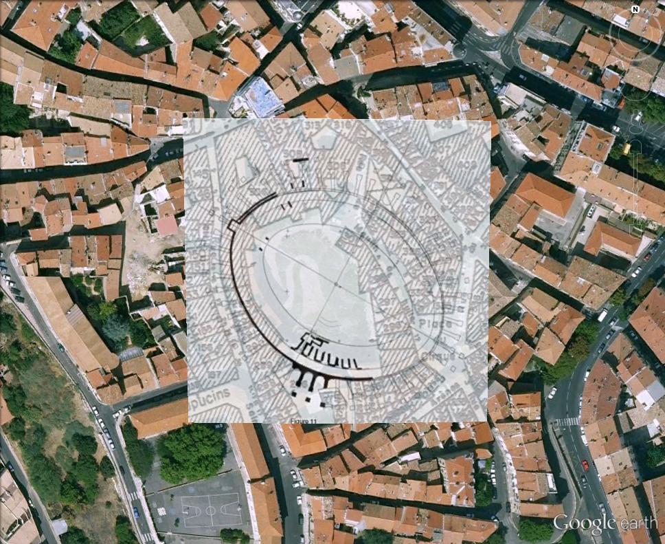 """Amphithéâtres romains : """"du pain et des jeux"""" Arynes11"""
