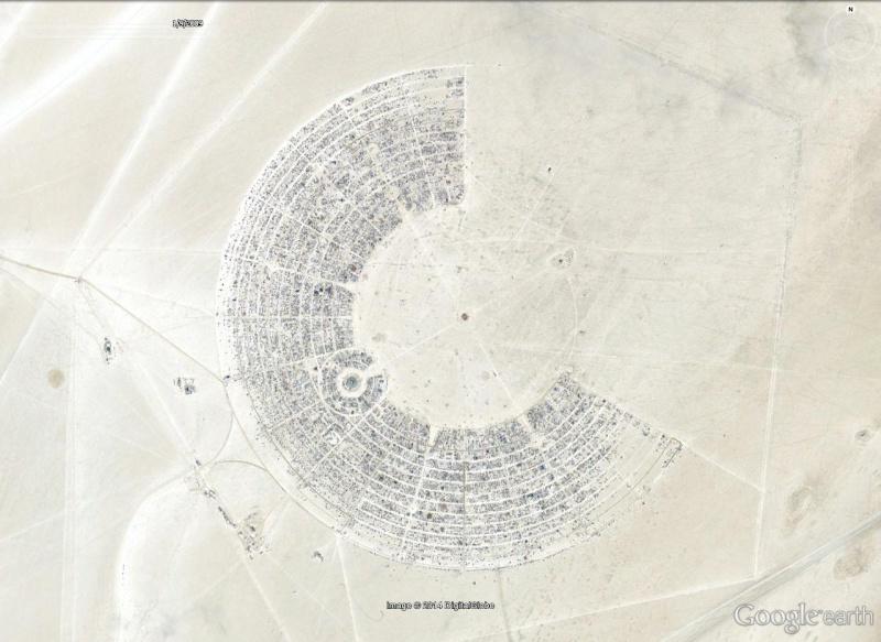 Site de Burning man, Nevada - USA Black_10