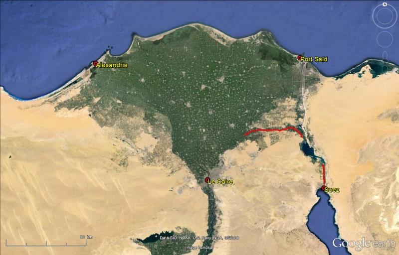 Le Canal des Pharaons : des travaux pharaoniques il y a près de 4000 ans. Canal_22