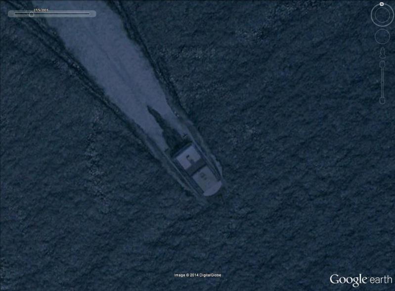 Les ferries HSV2 sur Google Earth Ceuta10