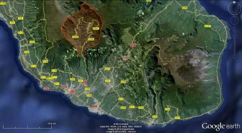 LA RÉUNION : la route de Cilaos, dite route aux 400 virages Cilaos11