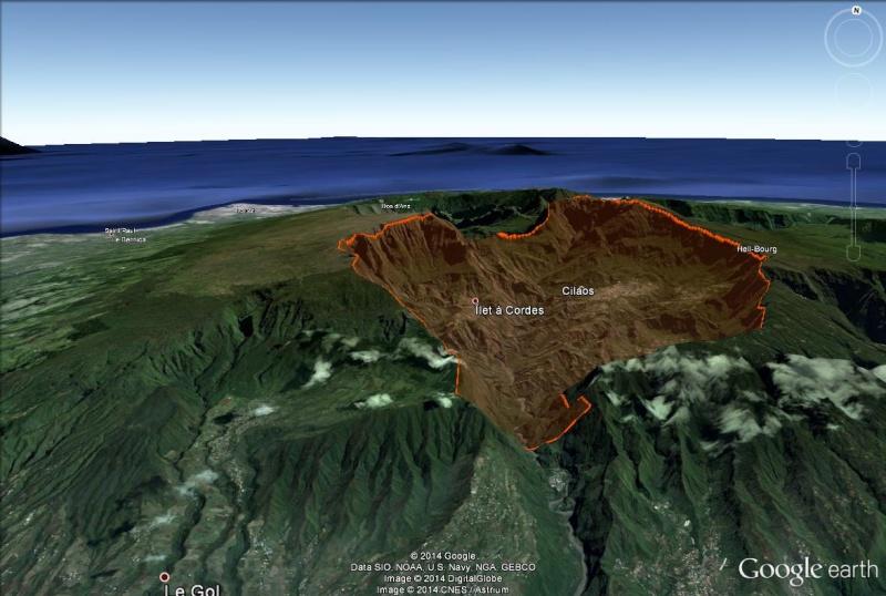 LA RÉUNION : la route de Cilaos, dite route aux 400 virages Cirque13