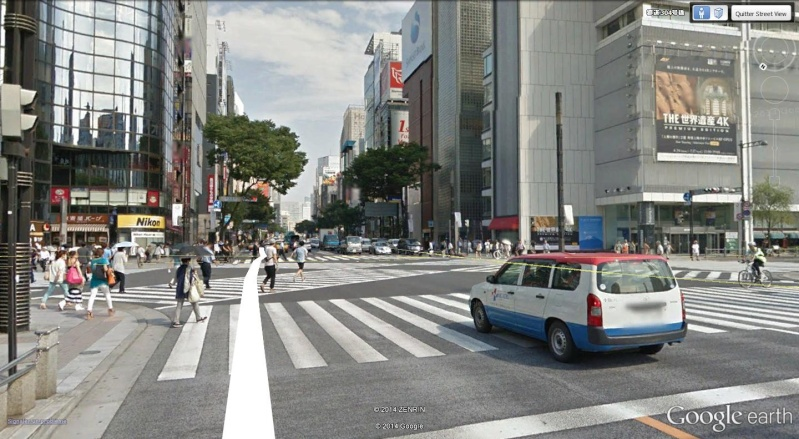 Passage piétons, Tokyo - Japon Diagon10