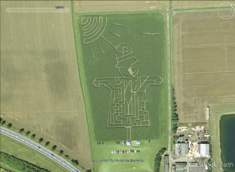 Les labyrinthes découverts dans Google Earth Drolr10