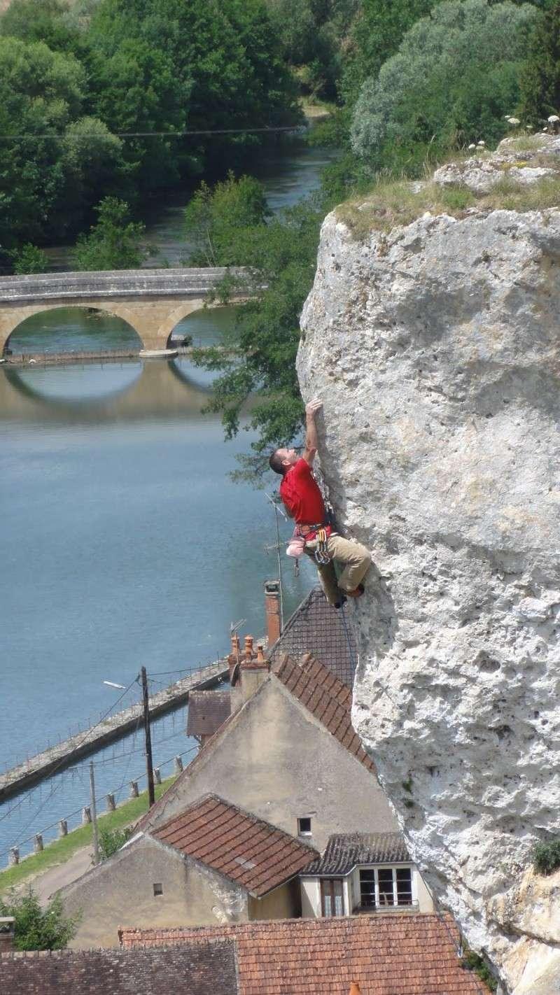 Les Rochers du Saussois (Yonne) : l'occasion de grimper sur des récifs coralliens Dsc02010