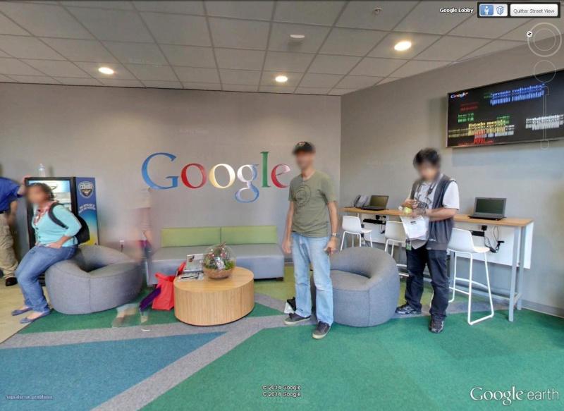 La Google Life à Mountain View, Californie Ecran10