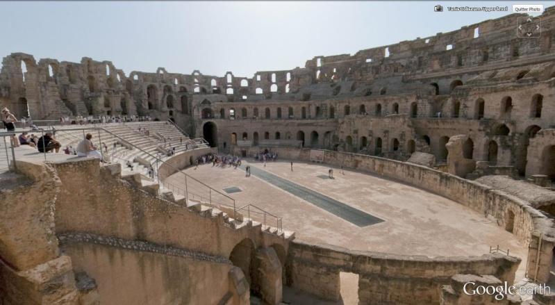 """Amphithéâtres romains : """"du pain et des jeux"""" El_jem12"""