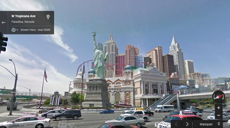 Statue de la Liberté = les répliques découvertes grâce à Google Earth Lv410