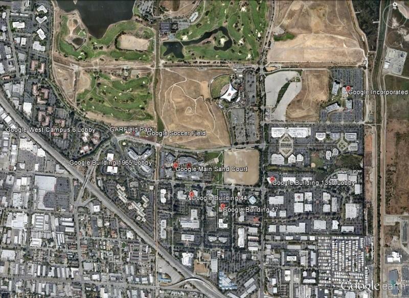 La Google Life à Mountain View, Californie Mounta13