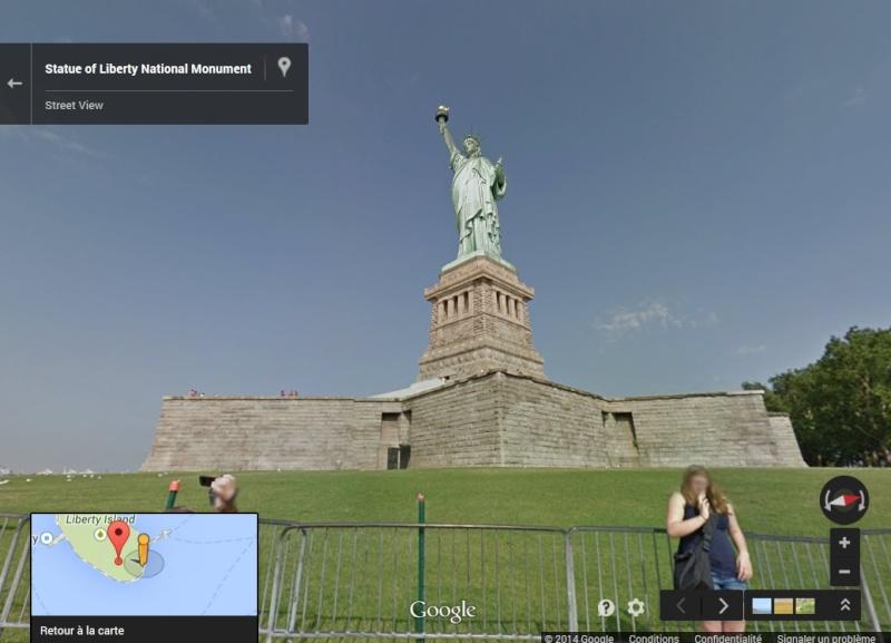 Statue de la Liberté = les répliques découvertes grâce à Google Earth Ny_lib11