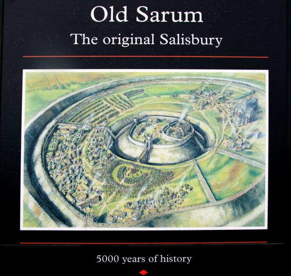 Old Sarum, Angleterre : une ville fortifiée vieille de 5000 ans Old-sa10