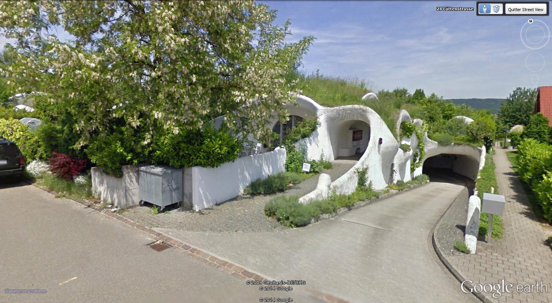Maisons organiques de Peter Vetsch, Dietikon - Suisse Parkin11