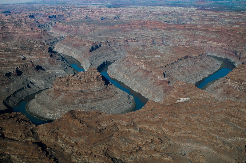 The Loop : les méandres parfaits du fleuve Colorado - Parc national de Canyonlands (Utah) :  Pict0510