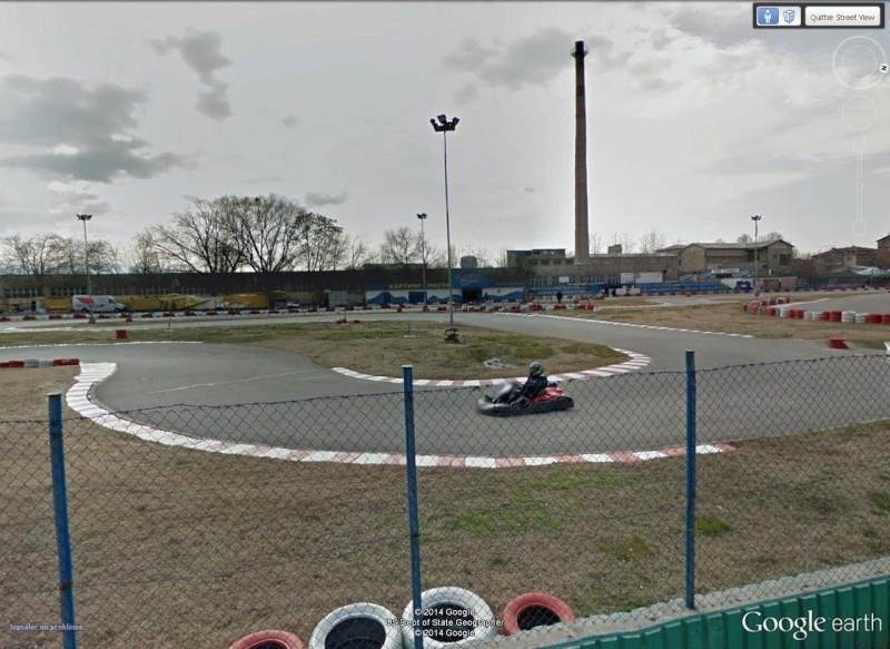 Circuit de kart à Plovdiv (Bulgarie) avec une jolie sortie de piste à la clé ! Pilote11