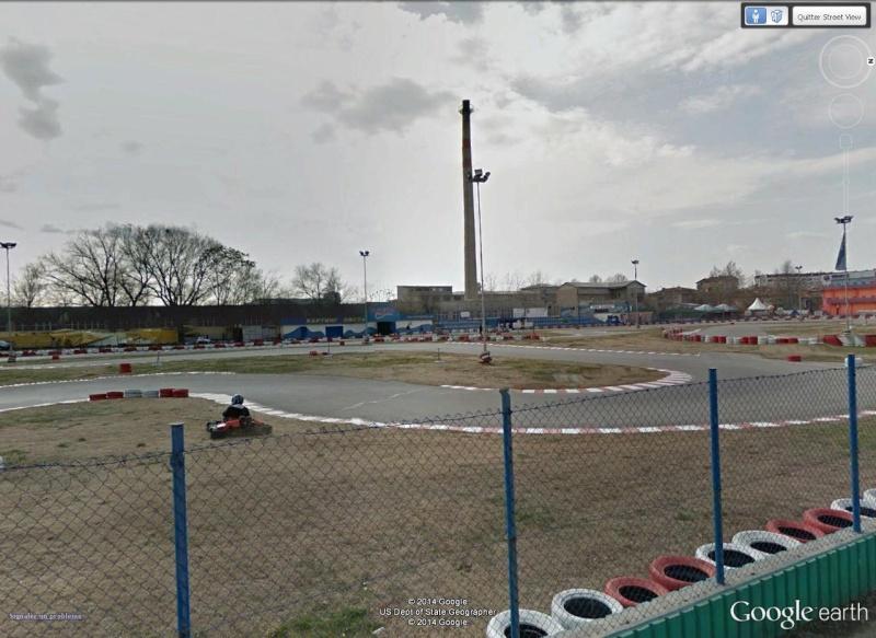Circuit de kart à Plovdiv (Bulgarie) avec une jolie sortie de piste à la clé ! Pilote12