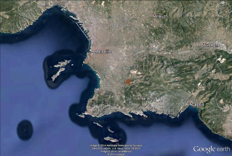 Google Mars… eille, Marseille, France Rouv10
