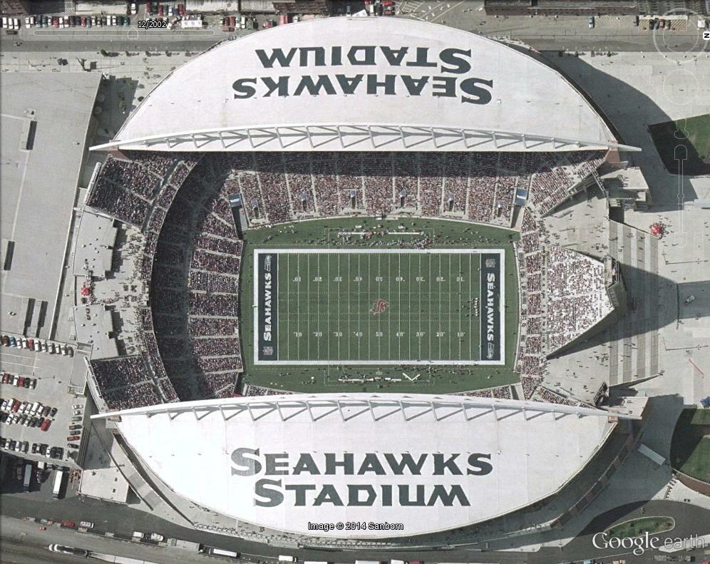 Stades de football américain full ! USA Seahaw10