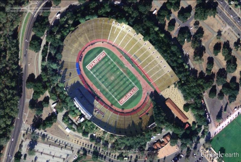 Stanford Stadium, Silicon Valley, Californie : la méthamorphose d'un stade Stanfo11