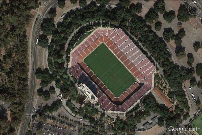 Stanford Stadium, Silicon Valley, Californie : la méthamorphose d'un stade Stanfo13