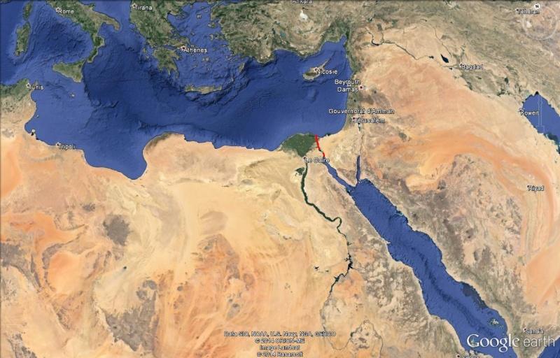 Le Canal des Pharaons : des travaux pharaoniques il y a près de 4000 ans. Suez_110