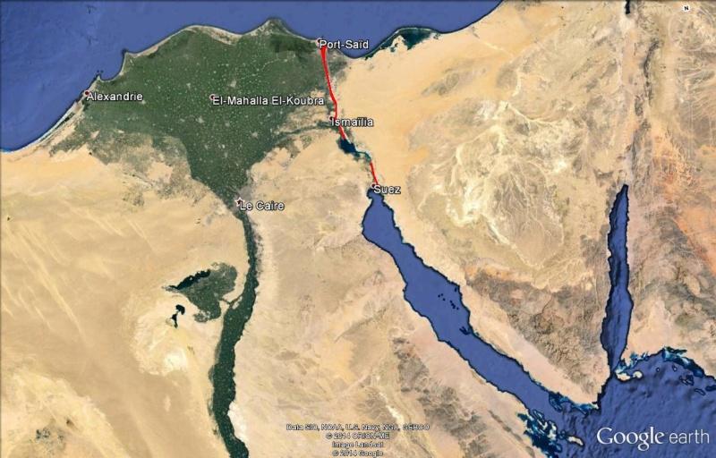 Le Canal des Pharaons : des travaux pharaoniques il y a près de 4000 ans. Suez_210
