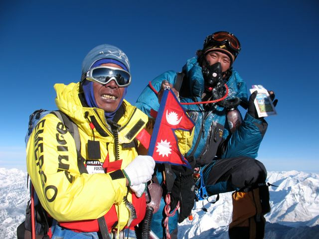 L'ascension de l'Everest Summit10