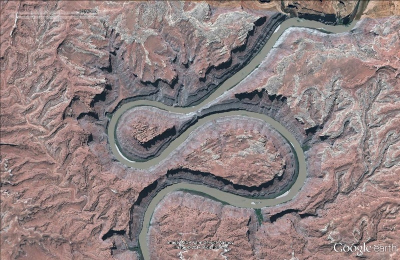 The Loop : les méandres parfaits du fleuve Colorado - Parc national de Canyonlands (Utah) :  The_lo14