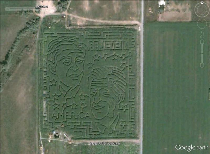 Les labyrinthes découverts dans Google Earth Visage10