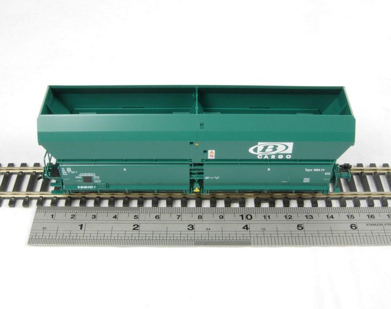"""Chargement de charbon pour wagon de type """"Falns"""" 14088910"""