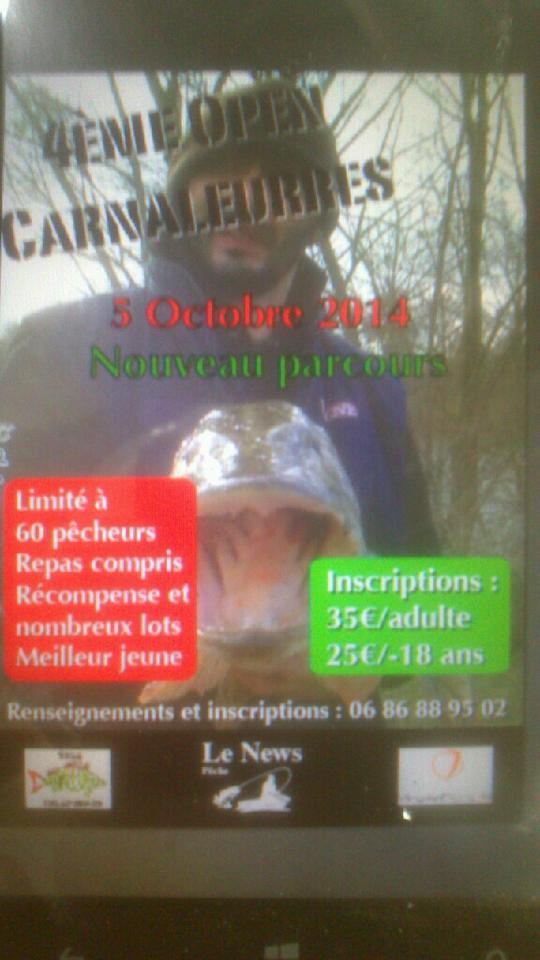 L'OPEN CARNALEURRE 2013. - Page 2 10527610