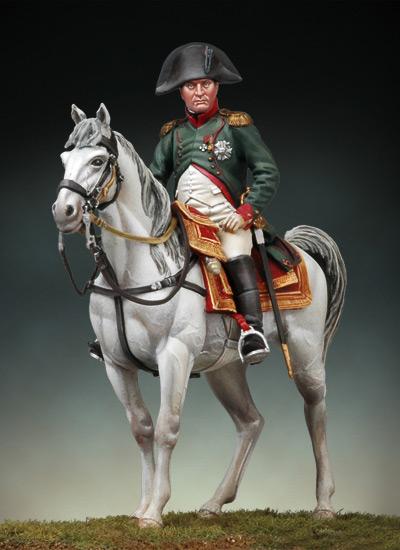 Napoleon à cheval Friedland 1807 S7-f3410