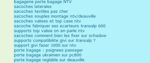 support GIVI top case NTV Topaca10